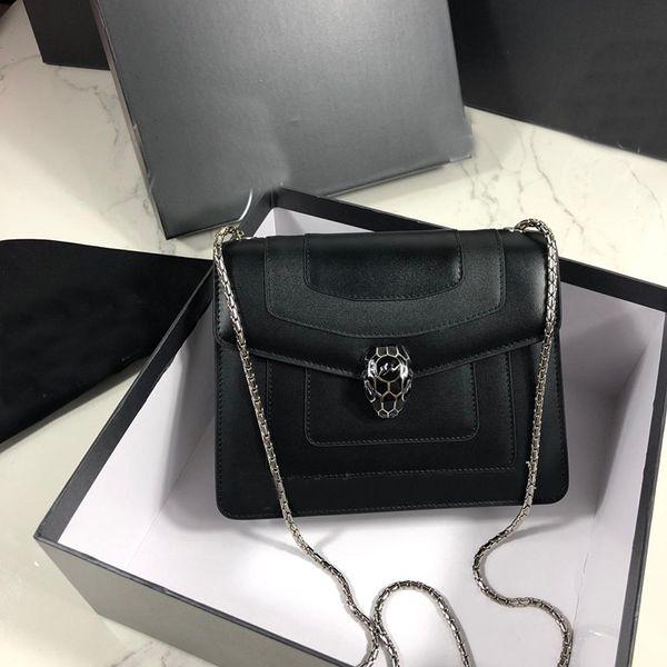 luxury designer bag genuine leather classic casual Inclined shoulder bag fashion street snap new single shoulder bag