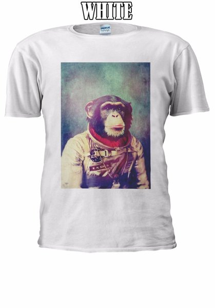 Astronaut Monkey Chimpanzee Space T-shirt Vest Tank Top Men Women Unisex 2449 top free shipping t-shirt