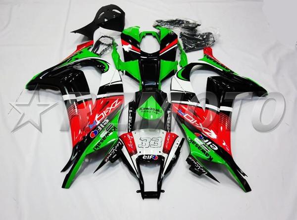 Nouveau kit carénages moto ABS pour kawasaki Ninja ZX-10R ZX10R 2011 2012 2014 2014 2015 11 12 13 14 15 Cool noir vert rouge