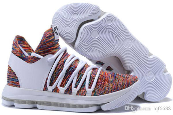 46367b727954 2018 Top Quality KD 10 Finals MVP Christmas shoes hot sales Kevin Durant  Kevin Durant shoes