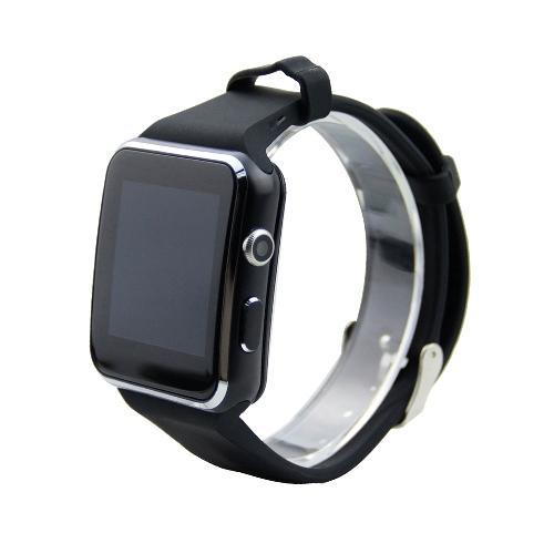 2019 Smartwatch écran courbé X6 bracelet de montre intelligente Téléphone avec fente pour carte SIM TF avec appareil photo pour Samsung andro