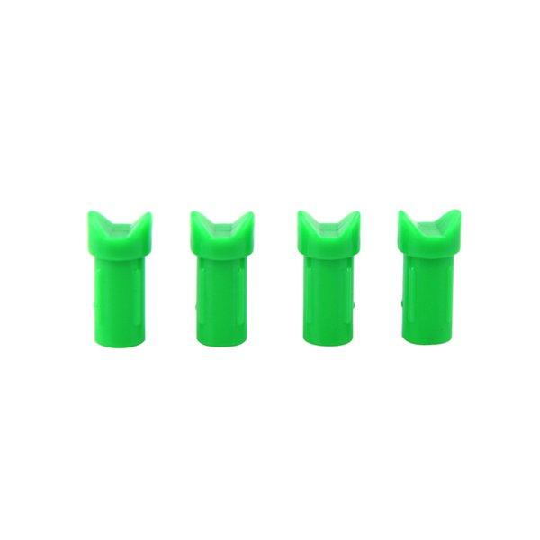 Okçuluk Yarım Ay Nock Crossbow KIMLIK 7.6mm için Ok Çentik Ok Mili Avcılık Çekim Uygulama Okçuluk Ok Aksesuarları Plastik Nocks