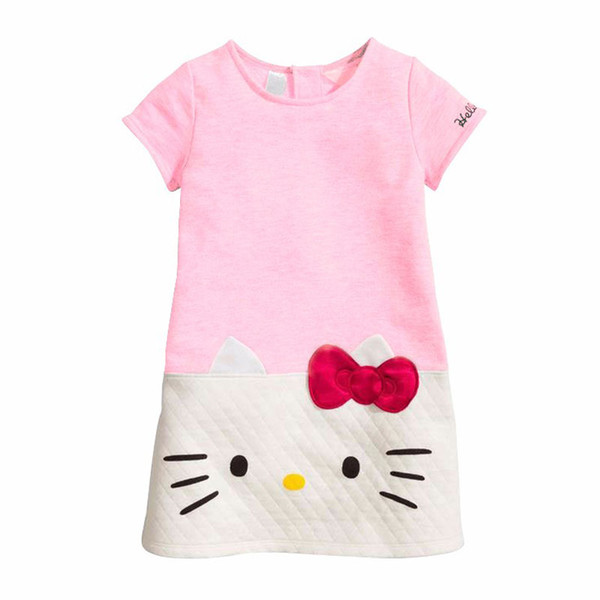 Девочки лета платья платья для детей Одежда Рождество для девочек принцессы платье детей
