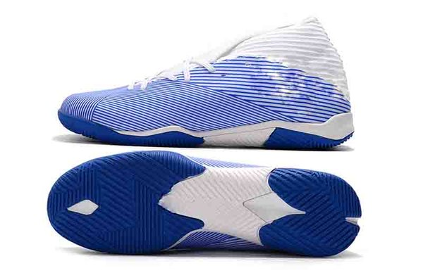 2019 Nouvelle arrivée des hommes Laceless Nemeziz 19.3 TF Chaussures de football Messi Chaussures Crampons intérieur Chaussures Taille 39-45