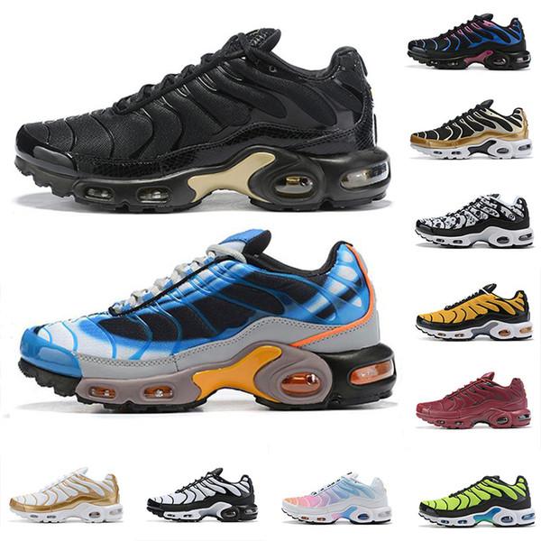 2019 Tn Plus Ultra Scarpe da corsa Uomo Air Tns Arancione Viola Rosa Oro Da donna Scarpe da ginnastica Sneakers Des Chaussures Scarpa 36-46