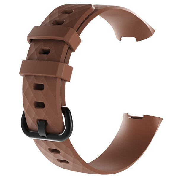 Men Women Silicone Bracelet Strap Adjustable Sports Watch Band Replacement Rubber Wrist Smart Accessories Solid