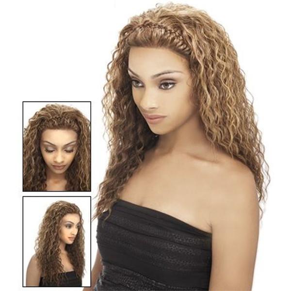 Faisceaux de faisceaux d'armure de cheveux blonds profonds Bundles de vague profonde de cheveux vierges péruviens de cheveux vierges australiens Remy # 27 couleur Beyo