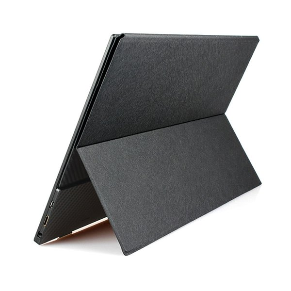 15.6 Inch Portable Screen Leather Case Special For 3.5mm Thin Screen Leather Stand