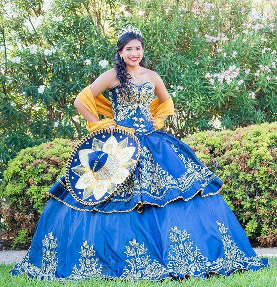 Vintage Sweetheart 2019 Quinceanera Dresses Gold Lace Appliques Beaded Embroidery Peplum Customized Junior Vestidos De Quinceanera Prom Gown