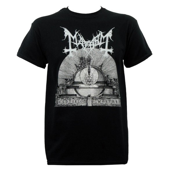 Authentic MAYHEM Band Esoteric Warfare Album Art T-Shirt S M L XL 2XL 3XL NEW Good Quality Brand Cotton Shirt Summer Style Cool Shirts