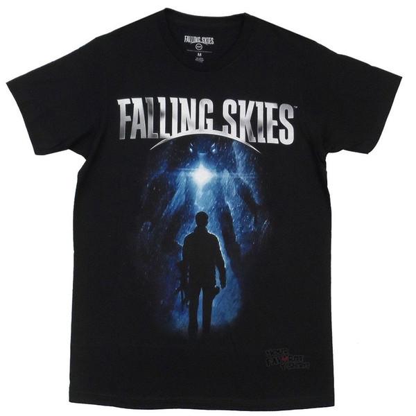 Falling Skies Show Logo Licencia para adultos Camiseta Fresca Casual orgullo camiseta hombres Unisex Moda camiseta envío gratis tops divertidos