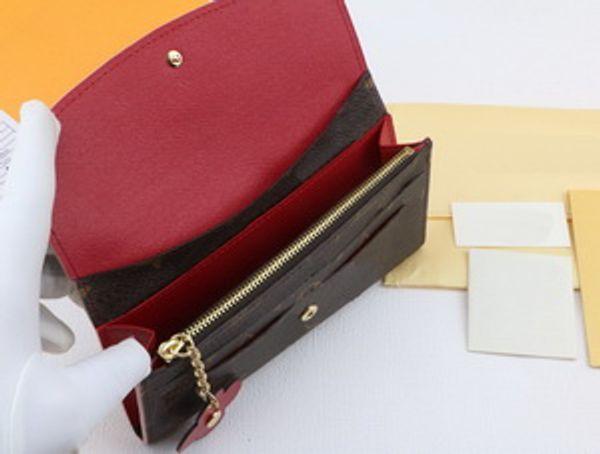 lettre brune + rouge
