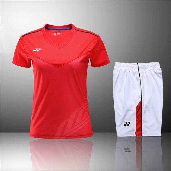 F6 YON EXXBadminton Traje Ropa deportiva para hombres y mujeres Camiseta de manga corta para el ocio Correr baloncesto Ropa casual Tenis de mesa Y3030