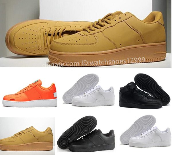 High Low Cut utility black Dunk No. 1 Casual Shoes Classic Men Women Skateboarding Shoes White Wheat Trainers Casual Shoes size 36-45
