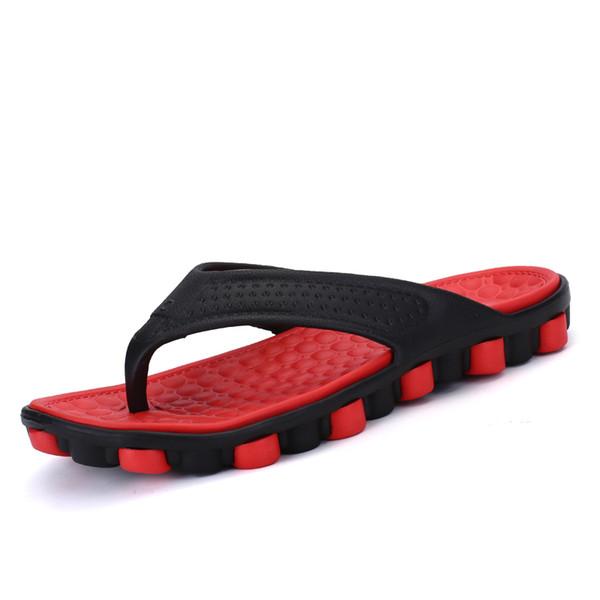 2019 été nouveaux pantoufles hommes porter des tongs porter la version coréenne de la plage chaussures bout pointu pantoufles hommes