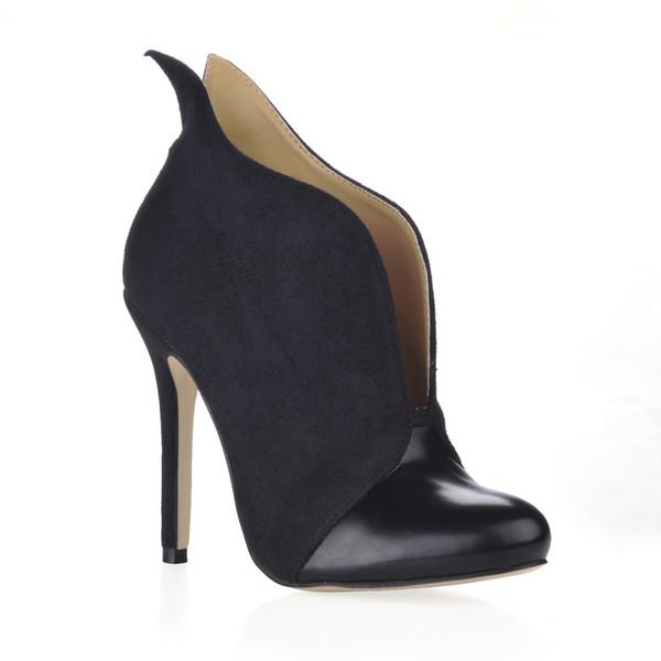 CHMILE CHAU Sexy Party Stiletto High Heel Women Ankle Boots Bootie Tobillo Botas Mujer Tacon Alto Aguja Stivali Caviglia Donna 0640CBT-i4