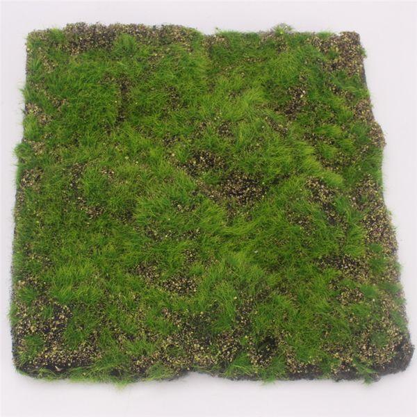 30CMX30CM Simulation Moss Turf Lawn Wall Green Fake Plant DIY Artificial Grass Board Wedding Home Hotel Background Shop Window Decoration