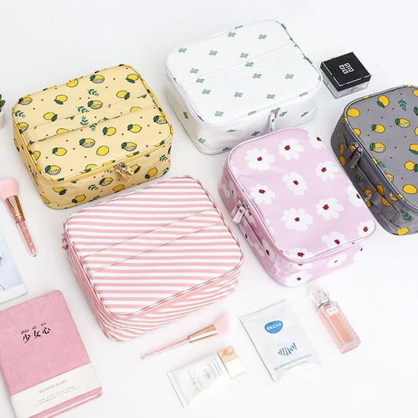 Les nouveaux sacs cosmétiques composent le sac à main femme sac de Voyage hôtesse de l'air Cosmetique