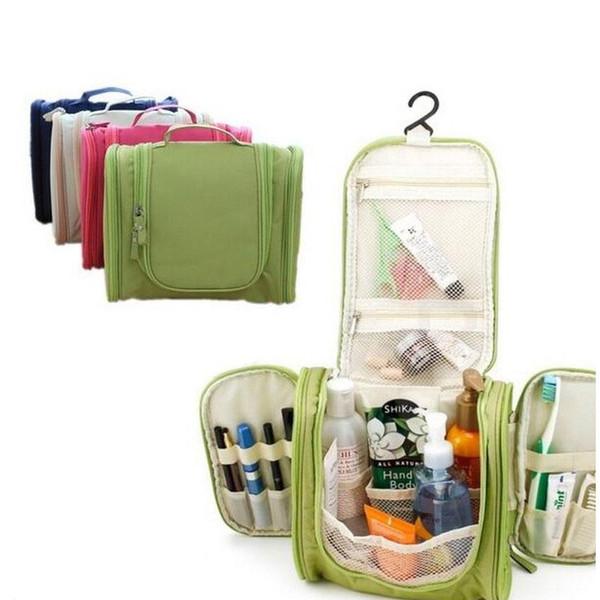 Trucco portatile all'ingrosso Compro articoli da toeletta Lavaggio borsa cosmetica Contenitore per Oxford Organizer Portaoggetti Appeso Kit da viaggio Borsa a mano Bulk