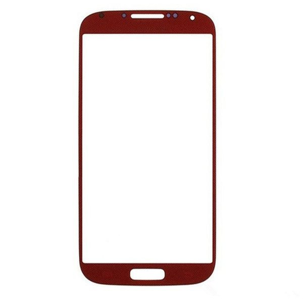 High Quality Front Outer Touch Screen Glass Lens Replacement for Samsung Galaxy s4 i9500 i9505 i337 free DHL