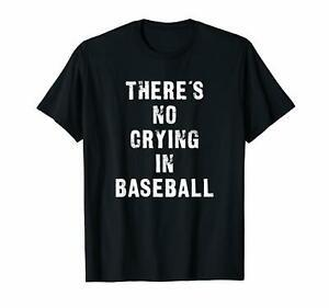 There 039 s No Crying In Baseball Смешная футболка