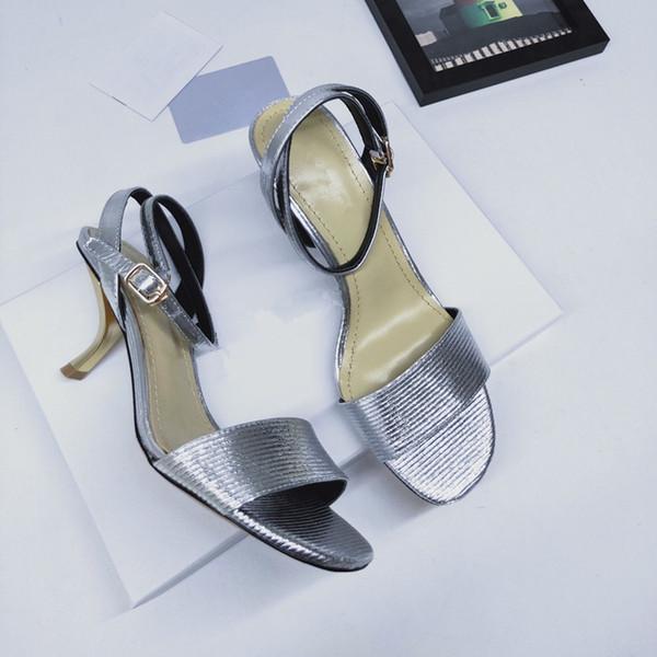 2019 Summer designer sandals fashion brands women casual leather sandals loafers women flip flops sandals 35-40 ks190516