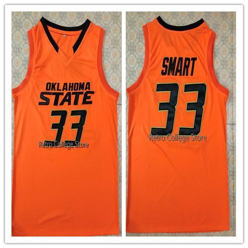 # 33 Marcus Smart State Джерси баскетбола для колледжа Вышивка на заказ Любые номера и имена Трикотажные изделия XS-6XL Vest Jerseys