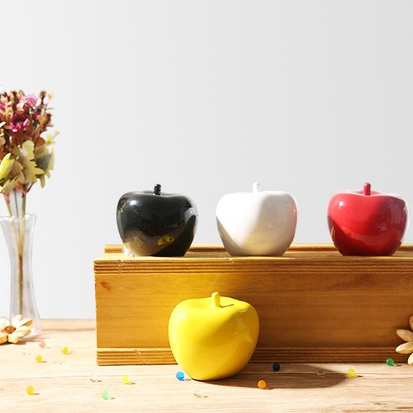 decorative bowls home decor.htm 2020 2019 ceramic apple figurines fruit model miniatures christmas  2020 2019 ceramic apple figurines fruit