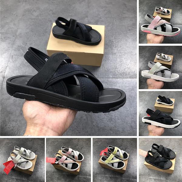 2019 del progettista di lusso uomini donne sandalo piattaforma casuale pantofola triple nero grigio rosa per bambini plate-forme Scarpe Vetrini femminili Mocassini Sport