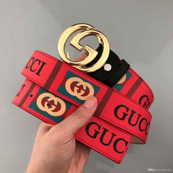 Fashion Luxury Genuine leather designer belts men's high quality Jaguar smooth buckle male belt wideband business belts for men cinturo