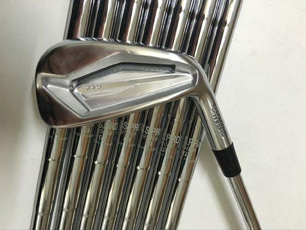 golf clubs 719 golf irons set with shaft and snowflake grips by dhl