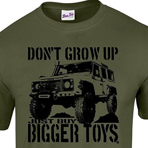 2019 New Fashion Brand Clothing Wholesale Discount Suv Men's 4x4 T Shirt Buy Bigger Toys 4wd Adventure Off Road T Shirts T Shirt