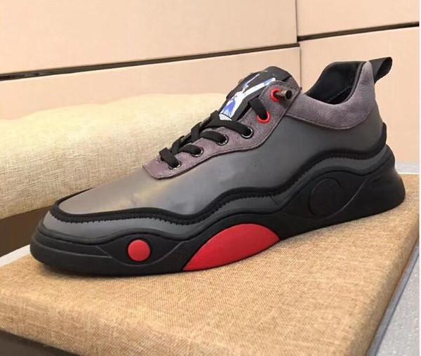 2019 sıcak yeni ayakkabı tasarımcısı tasarımcı bayan erkek spor ve boş zaman deri rahat ayakkabılar 38-45 mk03 örgü ÇALIŞTIR