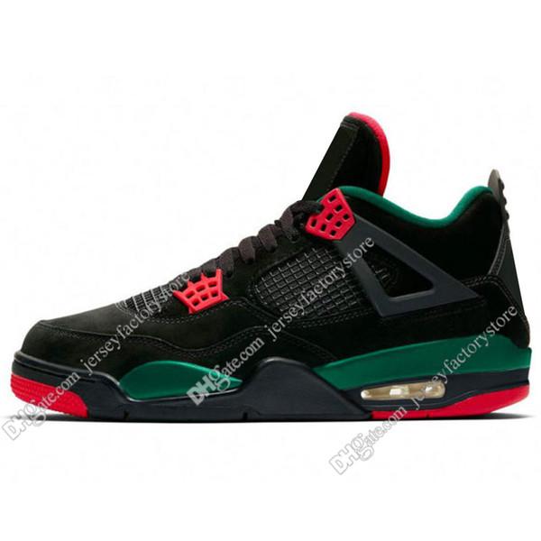 #14 Black Green Red