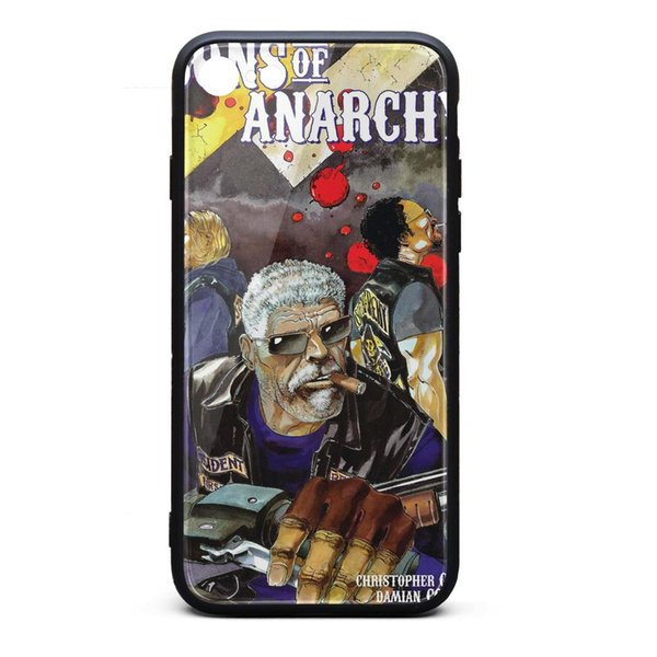 Sons of Anarchy Clay smokes Comic white iphone cases,iphone 6,iphone6s,iphone 6plus,iphone 6splus,iphone7,iphone 8 cases cute phone cases p