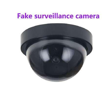 hot Fake Camera Home Security Simulated video Surveillance indoor/outdoor Surveillance Dummy Led Light fake Dome camera
