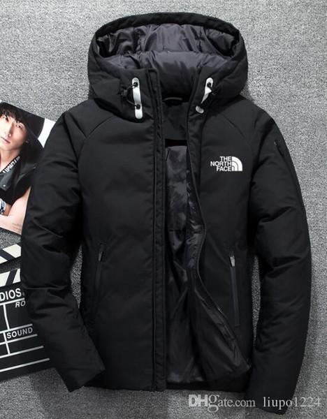 best selling 2019 High Quality New Winter Men's Down Jacket Jacket Leisure Down Jacket Warm Ski Men's Coat 1805