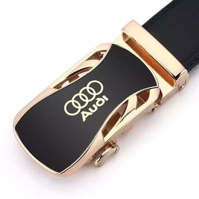 best selling Audi Automatic Buckle Belt Air Width 3.6cm Length 125cm Belt than Cowhide More Cow Men's Belt Hot