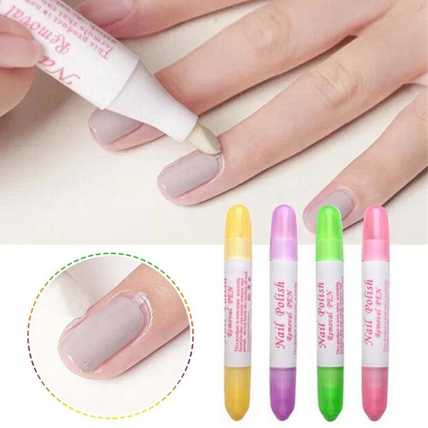 1 Pc Nail Art Corrector Pen Remove Mistakes Newest Nail Polish Corrector Pen Cleaner Erase Manicure