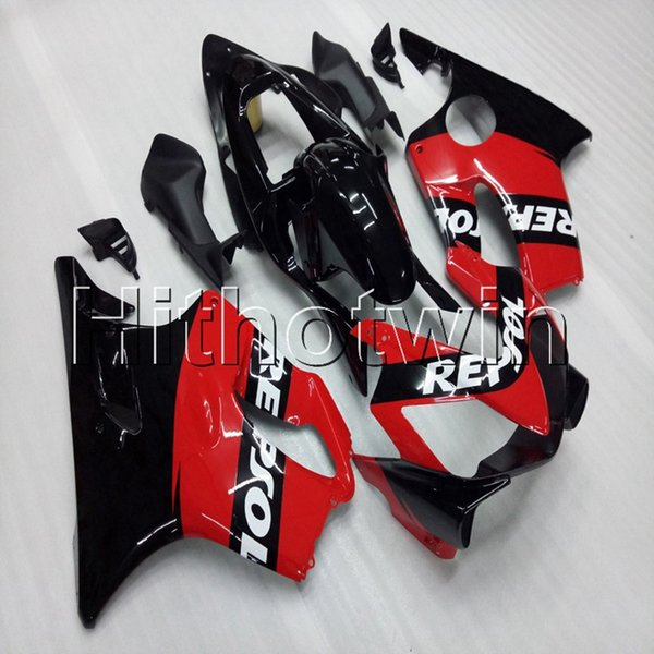 Gifts+Screws Injection mold black red motorcycle article for HONDA CBR600F4i 2001-2003 F4i 01 02 03 ABS motorcycle Fairing