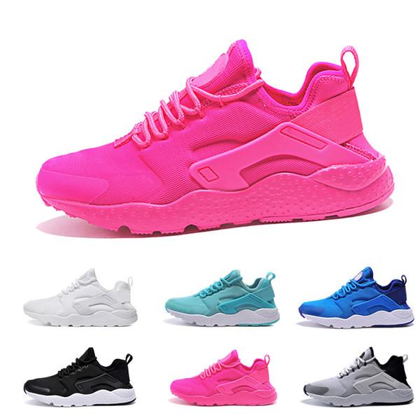 2018 air Huarache 3 3.0 Running Shoes For 3S Men Women huraches Black White High designer shoes Triple Huaraches sneakers 36-45