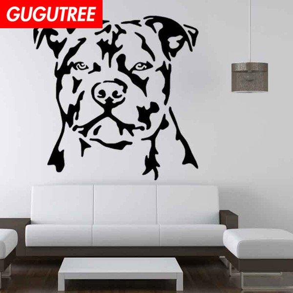 Decorate Home dogs cartoon art wall sticker decoration Decals mural painting Removable Decor Wallpaper G-2039