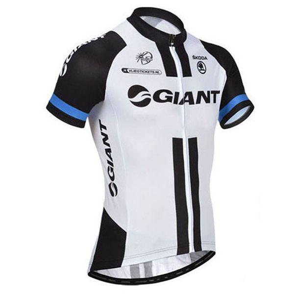 Tour de France GIANT nouveaux hommes équipe pro cyclisme Manches courtes vélo d'équitation vélo Vente d'été respirant porter des vêtements Ropa Ciclismo Hombre