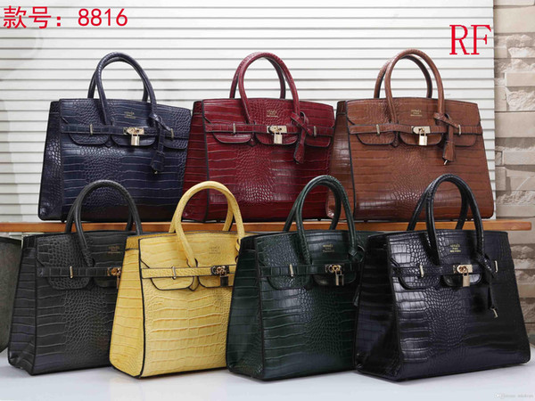 RF 8816-2 NEW styles Fashion Bags Ladies handbags bags women tote bag backpack Single shoulder bag shopping bag