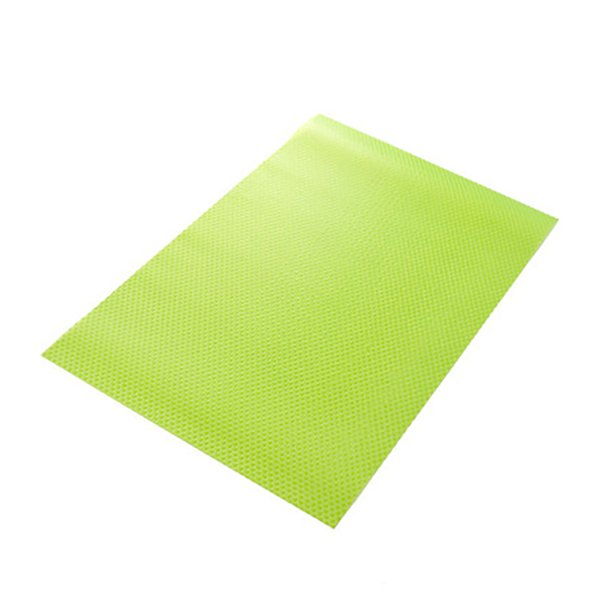 4Pcs Shelf Mats Antibacterial Antifouling Refrigerator Liners Washable Can Be Cut Refrigerator Pads Fridge Mats Drawer Table Pla