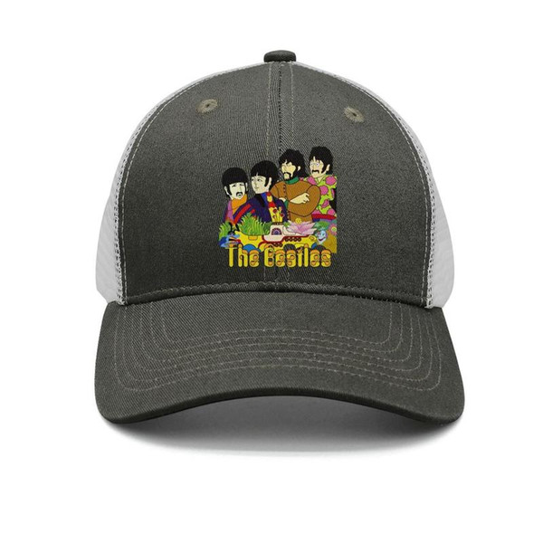 3e84de54d The Beatles Yellow Funny Submarine Logo Army Green Mens And Womens Trucker  Cap Baseball Design Custom Uk Hats Army Hats Custom Caps From Wearshop, ...
