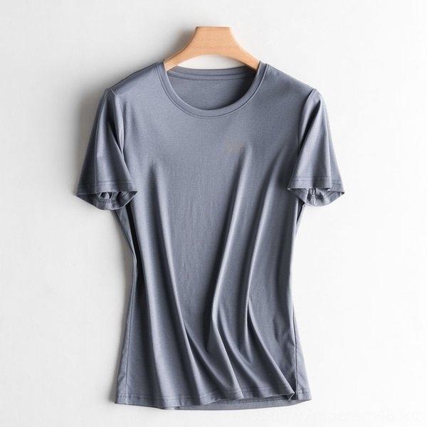 cuello redondo avanzó gris