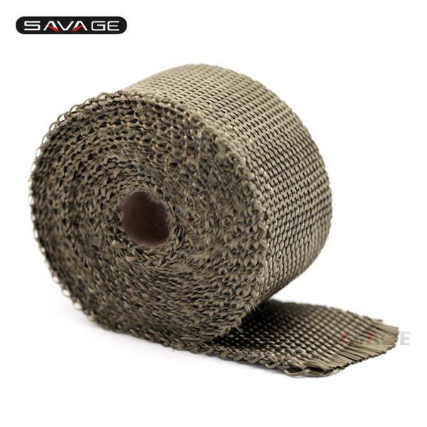 Exhaust Header Manifold Pipe Wrap Tape For HONDA CRF450R CRF250R CRF150R CRF250X CRF450X CRF230F CRF Motorcycle Fireproof Cloth