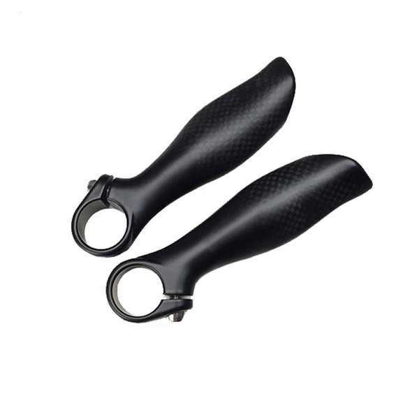 Carbon Mountain bike MTB Handlebar bar ends bicycle parts 3k finish 1pair Bicycle Accessories 125g