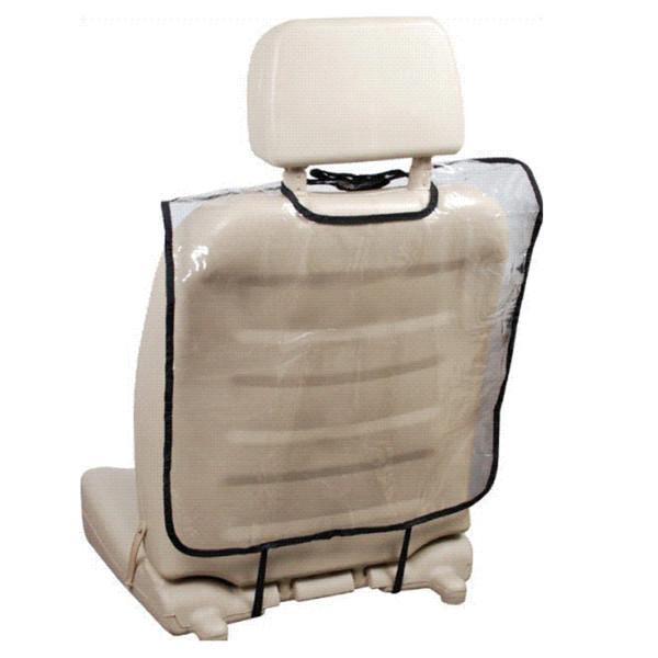 Plástico transparente Asiento Trasero Del Coche Protector de la Cubierta Asiento Trasero para Niños Bebé Niños Kick Mat Protect Mud Dirt Clean Auto Accesorios